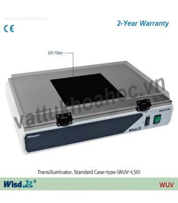 Bàn soi gel (2 bước sóng 365 và 312 nm) Daihan WUV-L50