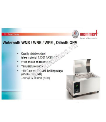 Bể cách thủy 10 lít Memmert WNB10