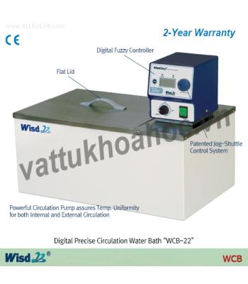 Bể điều nhiệt 6 lít (có bơm tuần hoàn) Daihan WCB-6