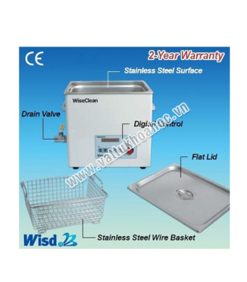 Bể rửa siêu âm 3 lít Daihan WUC-D03H