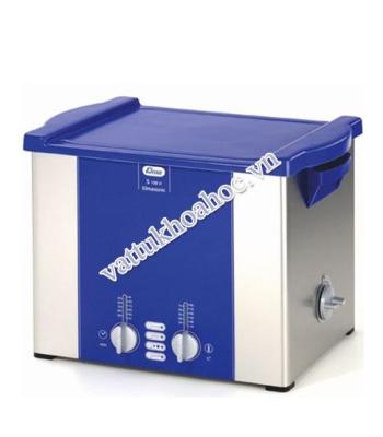 Bể rửa siêu âm có gia nhiệt 10 lít Elma S100H