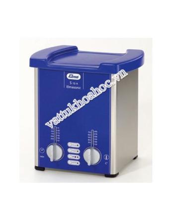 Bể rửa siêu âm có gia nhiệt 1,5 lít Elma S15H