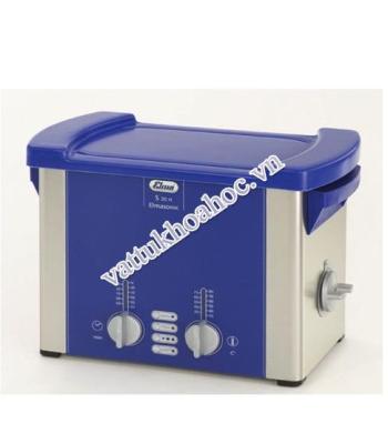 Bể rửa siêu âm có gia nhiệt 3 lít Elma S30H