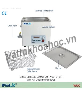 Bể rửa siêu âm hiện số 10 lít Daihan WUC-D10H