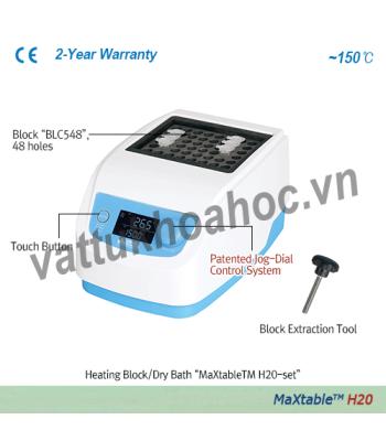 Block gia nhiệt khô (kèm block tiêu chuẩn) Daihan H20-SET
