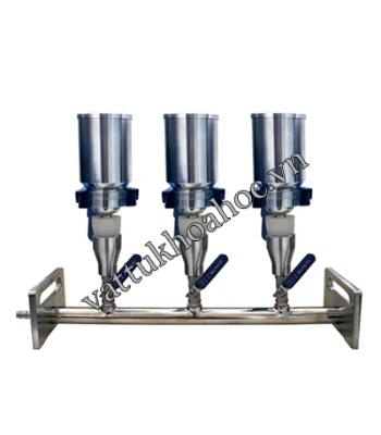 Bộ lọc chân không 3 vị trí inox Biobase MVF-3S