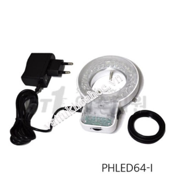 Đèn LED Ring cho kính hiển vi soi nổi PHLED64-i