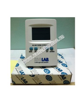 Đồng hồ đo nhiệt độ, độ ẩm ISOLAB - Đức