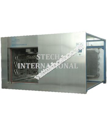Hệ thống tiệt trùng khô tuần hoàn dòng khí (800 Lít)