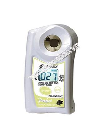 Khúc xạ kế Atago dùng cho đo trọng lượng riêng nước tiểu của chó PAL-USG(DOG)