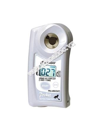 Khúc xạ kế Atago dùng cho đo trọng lượng riêng nước tiểu của mèo PAL-USG(CAT)