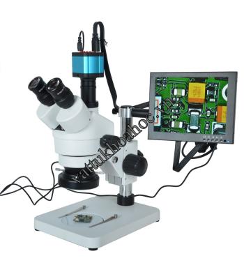 Kiểm tra bằng kính hiển vi ba mắt có camera và màn hình