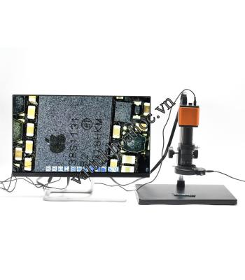 Kính hiển vi điện tử kỹ thuật số có kết nối màn hình HY-2317
