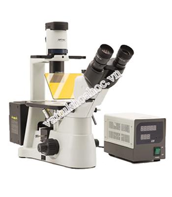 Kính hiển vi soi ngược phản pha huỳnh quang Optika IM-3FL