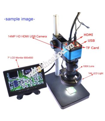 Kính hiển vi soi nổi camera kết nối HHM-212TV