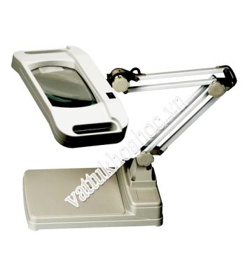 Kính lúp để bàn 10X thân gập đèn LED Zhangfei LT-86I