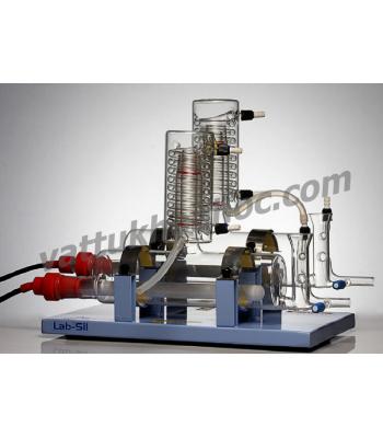 Máy cất nước 2 lần 4 lít/giờ (thanh đốt Silica) Labsil OPTI-D-4