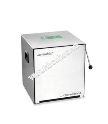 Máy dập mẫu vi sinh cửa Inox Interscience JumboMix 400VP