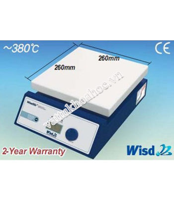 Máy khuấy từ gia nhiệt 380℃ Daihan HP-30D