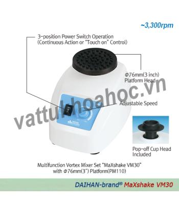 Máy lắc Vortex đa chức năng Daihan VM30