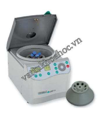 Máy ly tâm 8 ống (4 ống 15ml + 4 ống 50ml), 6800 vòng/phút HERMLE Z-207A