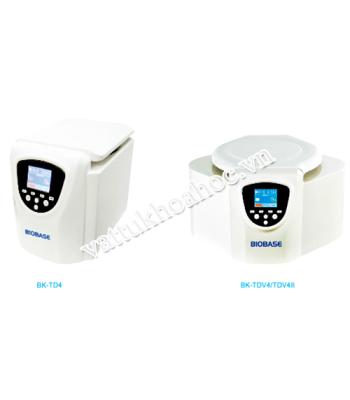 Máy ly tâm tốc độ thấp để bàn Biobase BK-TDV4II