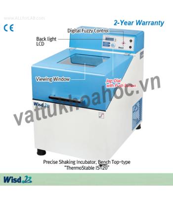 Tủ ấm lắc ổn nhiệt 101 lít (có làm lạnh) Daihan IS-20R