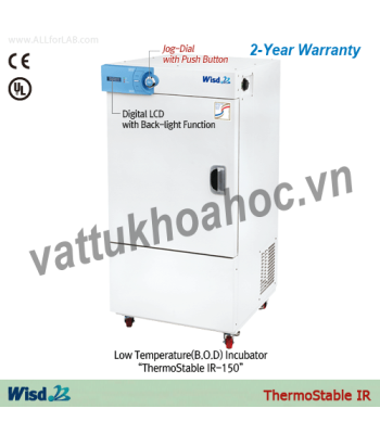 Tủ ấm lạnh 150 lít (Tủ ấm BOD) Daihan IR-150