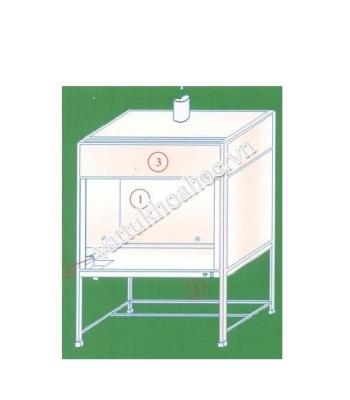 Tủ hút khí độc Việt Nam HL 70-120