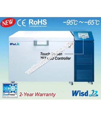 Tủ lạnh âm sâu -95℃ dạng ngang 350 lít Daihan DuoFreez C350
