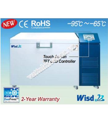 Tủ lạnh âm sâu -95℃ dạng ngang 500 lít Daihan DuoFreez C500