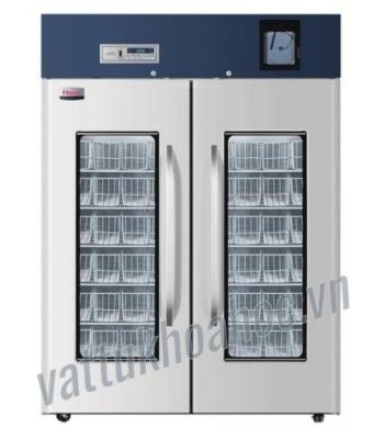 Tủ lạnh trữ máu chuyên dụng 1308 lít, bộ ghi nhiệt độ tích hợp, kiểu giỏ đựng Haier HXC-1308
