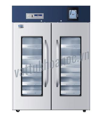 Tủ lạnh trữ máu chuyên dụng 1308 lít có bộ ghi nhiệt độ, kiểu ngăn kéo Haier HXC-1308B