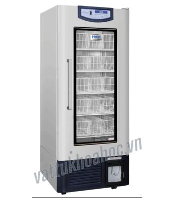 Tủ lạnh trữ máu chuyên dụng 358 lít, kiểu giỏ đựng, bộ ghi nhiệt độ tích hợp Haier HXC-358