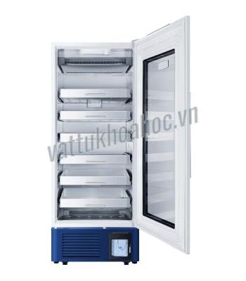 Tủ lạnh trữ máu chuyên dụng 608 lít có bộ ghi nhiệt độ, kiểu ngăn kéo Haier HXC-608B