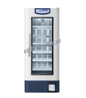 Tủ lạnh trữ máu chuyên dụng 608 lít, kiểu giỏ đựng mẫu, bộ ghi nhiệt độ tích hợp Haier HXC-608