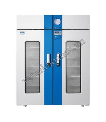 Tủ trữ máu 1369 lít có bộ ghi nhiệt độ, USB, kiểu giỏ đựng Haier HXC-1369