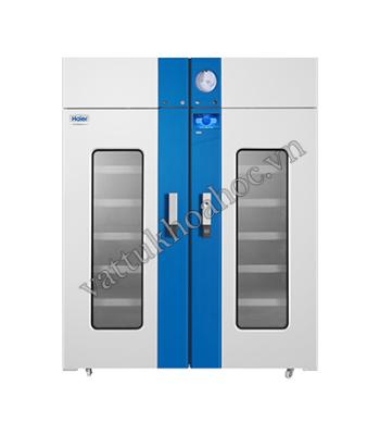 Tủ trữ máu 1369 lít có bộ ghi nhiệt độ, USB, kiểu ngăn kéo Haier HXC-1369T